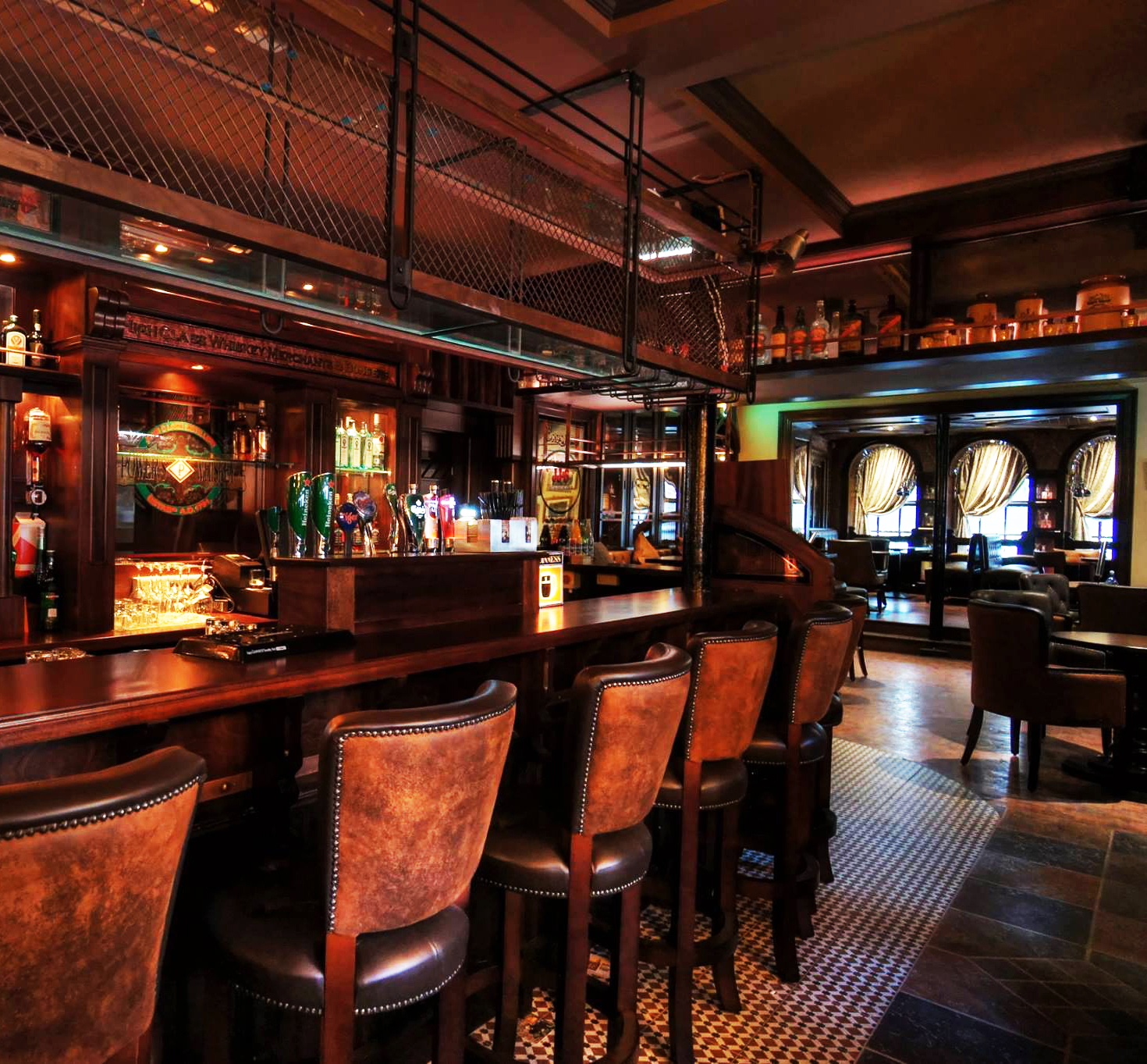 Irish Bars and Irish Pub fitouts worldwide
