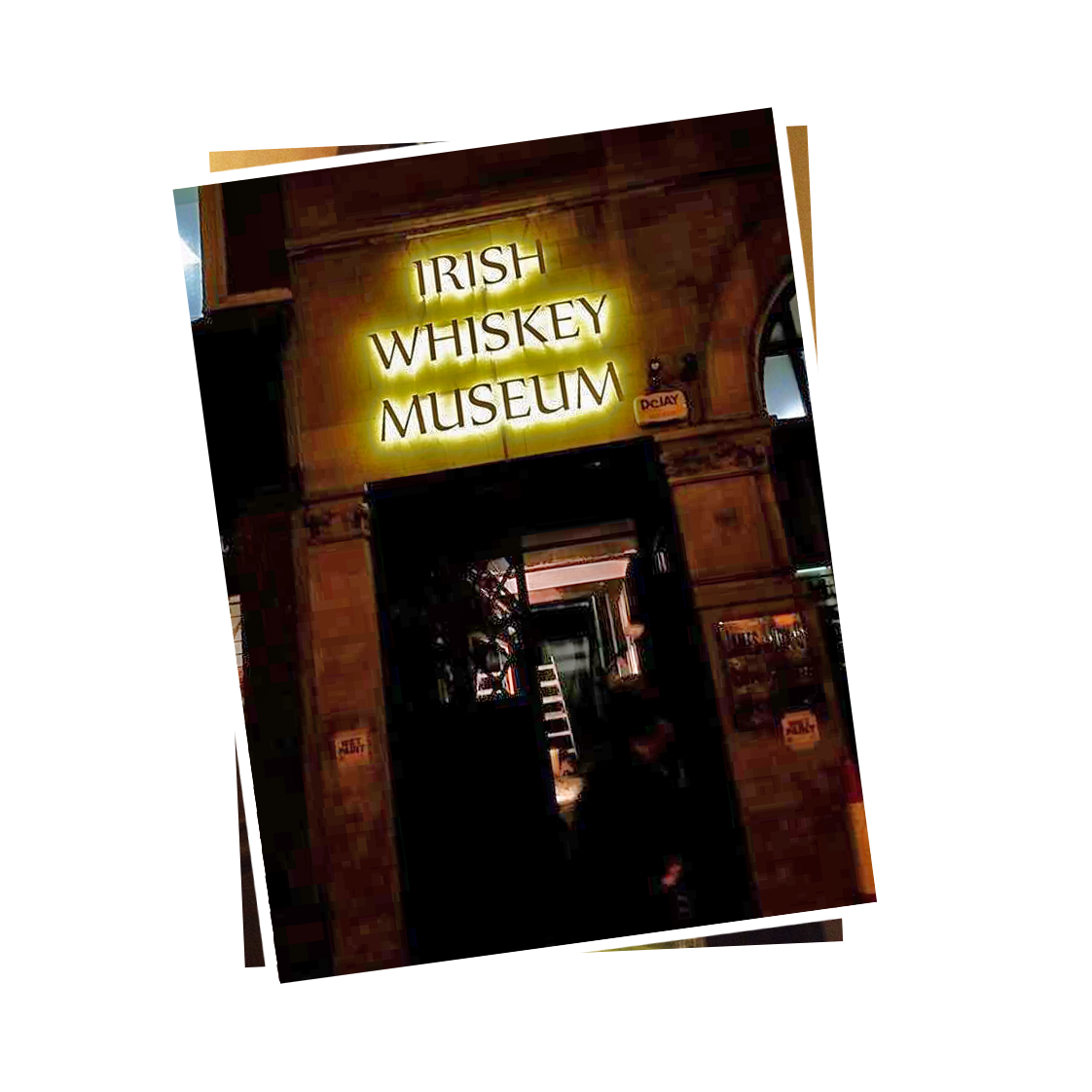 The Irish Whiskey Museum bar
