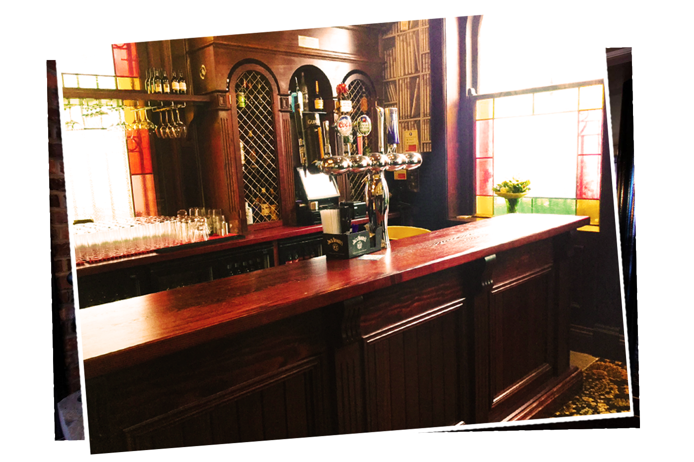 Wooden Bar Fitout Courhouse Bar Lugan
