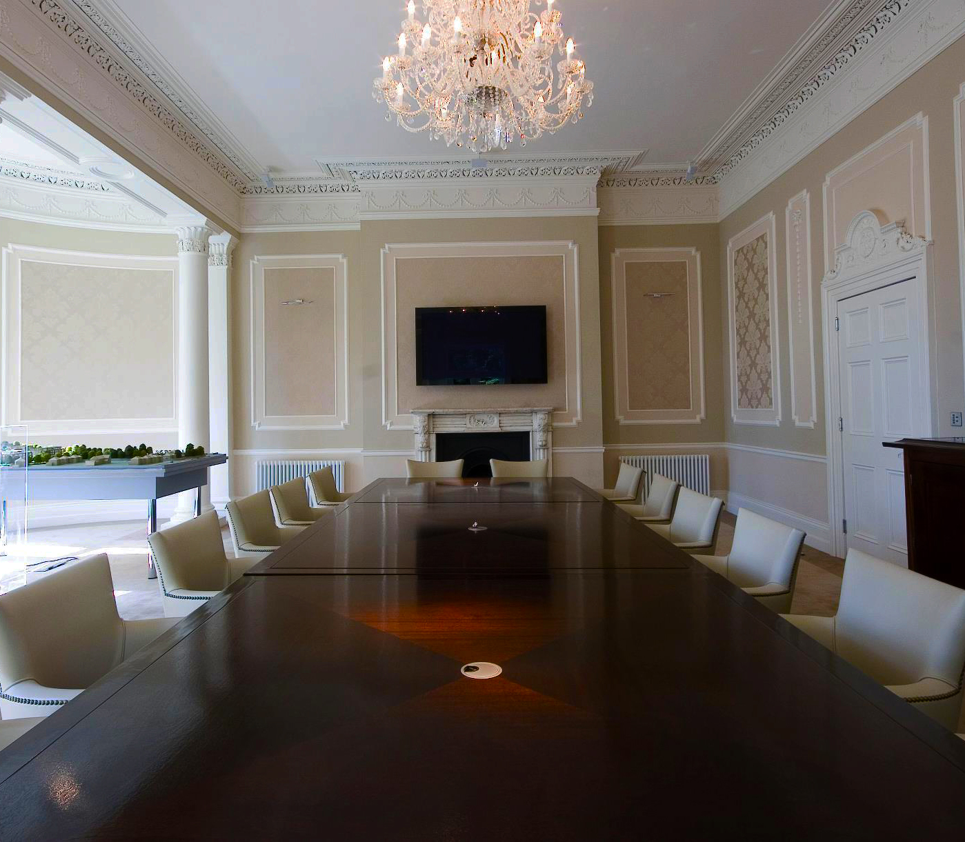 Teamwoodcraft design and build luxury boardrooms