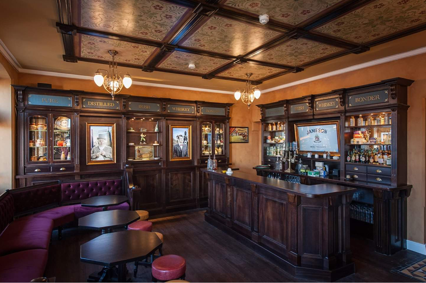 International Pub Fitouts by Teamwoodcraft joinery Laois Ireland