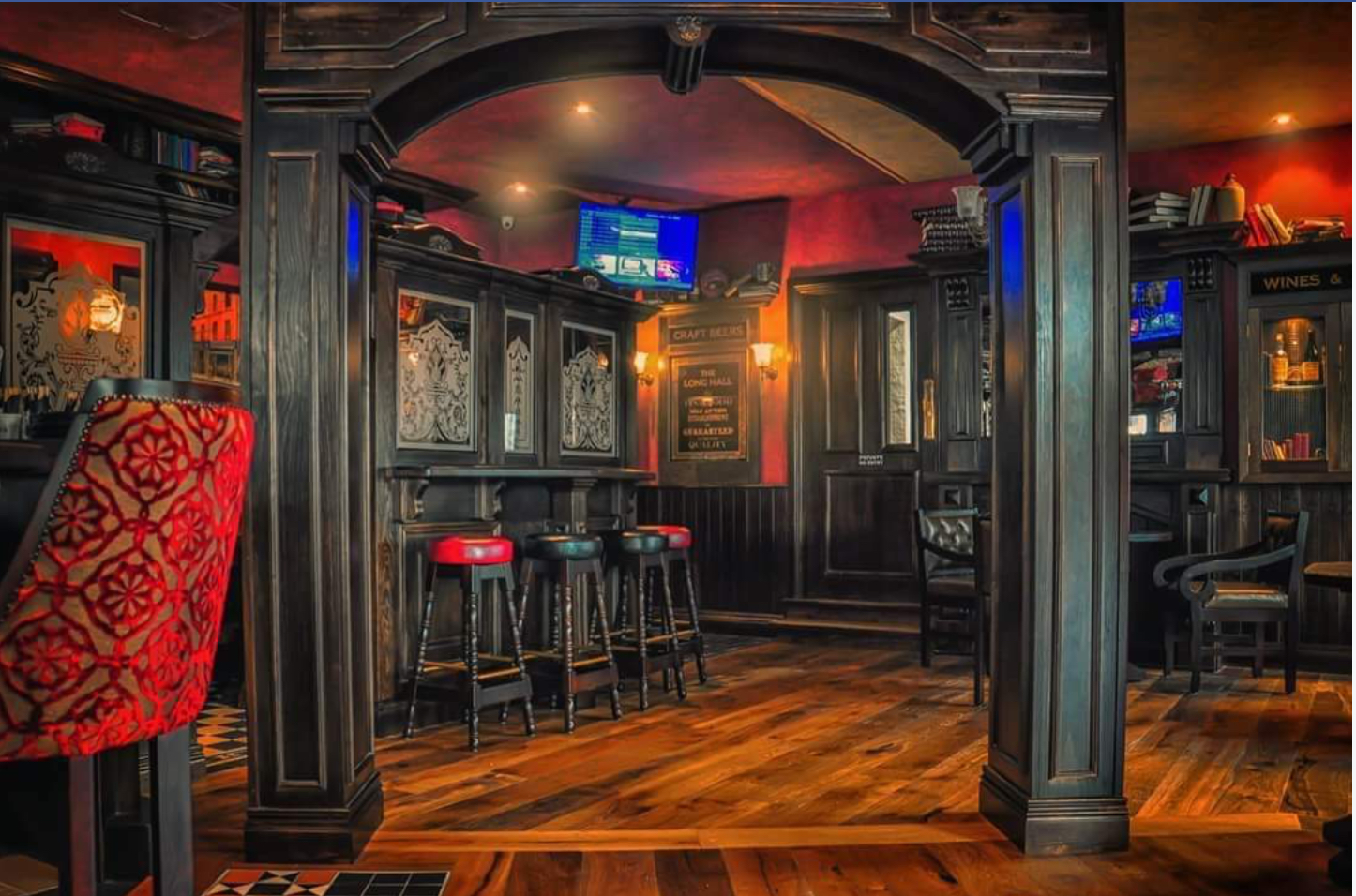 Irish pub fitouts USA by Teamwoodcraft joinery Ireland